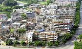 Chinese slum area district — Stock Photo