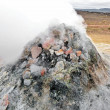 Iceland geothermal fumarole — Stock Photo #7707006