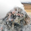 Iceland geothermal fumarole - Stock Photo