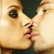 Stockfoto: Sexual couple posing