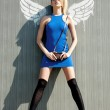 Urban angel — Stock Photo #6818374