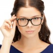 Lovely woman in spectacles — Stock Photo
