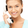 Businesswoman with phone — Stock Photo #6944872