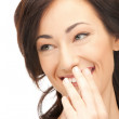 Laughing woman — Stock Photo #7705541