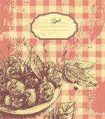 Cherries — Stock Vector