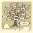 Family tree. — Vetorial Stock