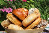 Chleba a rohlíky — ストック写真