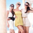 Young beauty friends on vacation day — Εικόνα Αρχείου #7466271