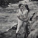 Loving couple hugging — Stock Photo