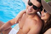 Atraktivní pár — Stock fotografie