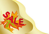 Autumn for sale 6 — Stock Vector