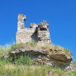 Rubble of the old castle — Stock Photo