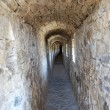Corridor in wall old castle — Stock Photo #7434675
