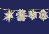 Snowflake sale 1 — Stock Vector
