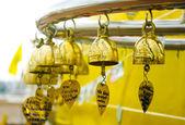 Golden windbell — Stock Photo