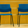 Blue chairs — Stock Photo #7626173