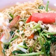 Stock Photo: Native Thai style of Noodle mix salad