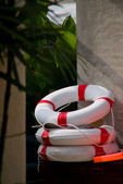 Lifebuoy, Rescue hoop — Stock Photo