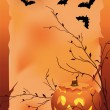 Halloween background — Stock Vector #7405800