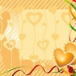 Wedding card — Stock Vector #7405948