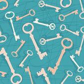 Old keys — Stock Vector