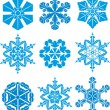 Ssnowflake — Stock Vector