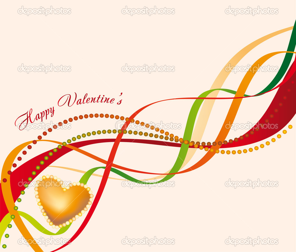 Decorations for valentine's day  — Stock Vector #7432144