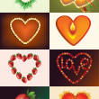 Stock Vector: Heart for Valentines day