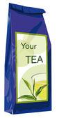 Package of tea — Stock Vector