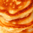 Golden pancake — Stock Photo #7453634