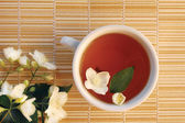 Jjasmine Tea — Stock Photo