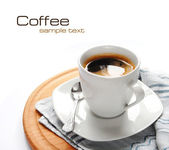 Coffee (easy to remove the text) — Stok fotoğraf