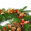 Christmas wreath - Stockfoto