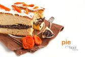 Cake with poppy seeds — Stock Photo