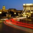 Chain bridge of Budapest city — Stock Photo #7247220