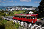 Cable Car in Wellington — Stock Photo
