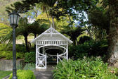 Pavillon in the Botancial Garden in Wellington — Stock Photo