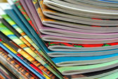 Colorful Magazines — Stock Photo