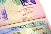 US Visa — Stock Photo