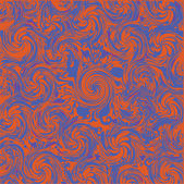 抽象橙色蓝色背景 — 图库矢量图片