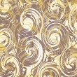 Abstract background with spirals — Vector de stock #7268283