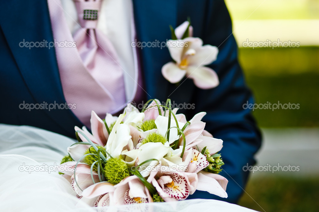 Close up of wedding bouquet — Stock Photo #6904574