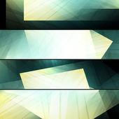 Set abstracte frames — Stockvector