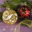 Christmas ornaments — Stockfoto #7686957