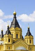 Iglesia de alejandro nevski — Foto de Stock