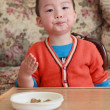Stock Photo: Cute kid meal