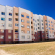 Many-storeyed apartment house — Stock Photo #6756634