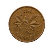 Canadian cent — Stock Photo