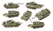 Tank model — Stock Photo
