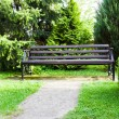 Royalty-Free Stock Photo: Bench in park